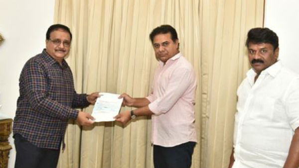 film industry prominent persons gave donations to cm relief fund