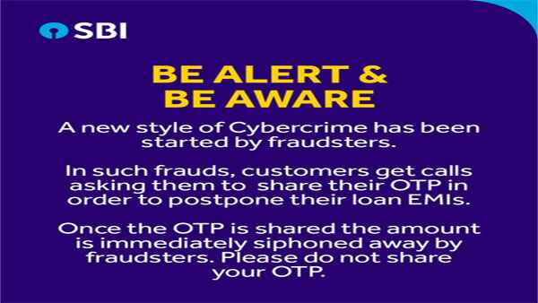 Fake news: OTP not required to defer EMIs, This is another cyberfraud