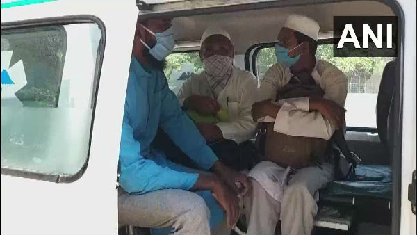 Andhra Pradesh: officials in Srikalahasti have identified 15 persons returned from Nizamuddin