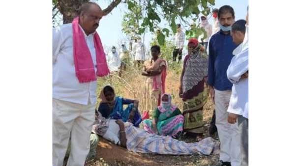Farmer Died Of Heart Attack At Ikp Centre In Kamareddy District