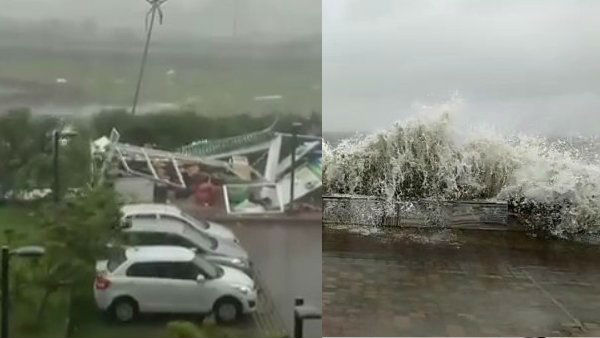 amphan cyclone: తీరం దాటిన తుఫాను, బెంగాల్, ఒడిశాల్లో అతలాకుతలం