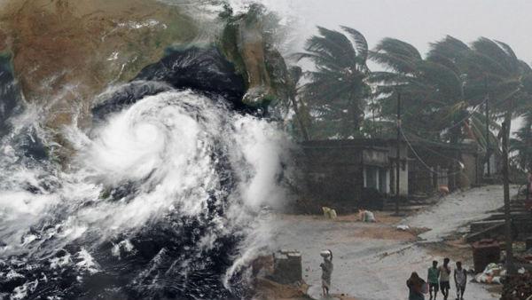 Amphan cyclone: ఉవ్వెత్తున ఎగుస్తున్న అలల ...