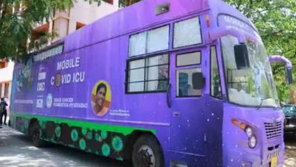Minister Etela Rajender inaugurates Mobile Covid ICU in Hyderabad