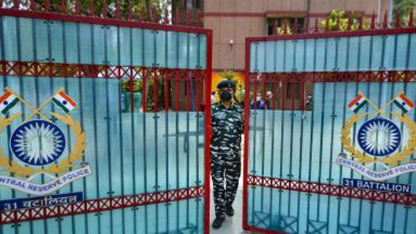 coronavirus: CRPF Headquarters in Delhi Sealed After Staffer Tests Positive