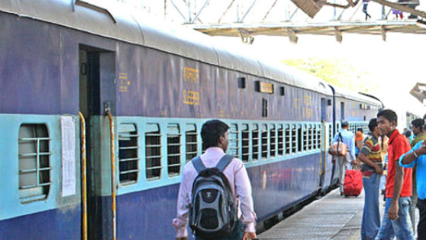 railway police arrested palasa youth for allegedly selling train tickets.