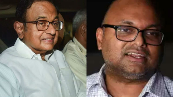 ED Chargesheet filed against Chidambaram, son Karti in INX Media case