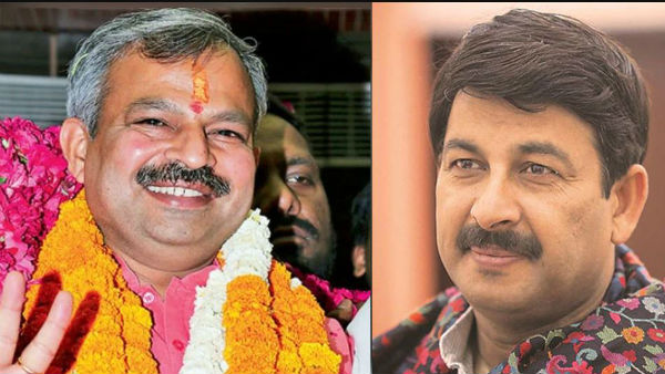 bjp appoints new chief for three states, Manoj Tiwari Removed in delhi