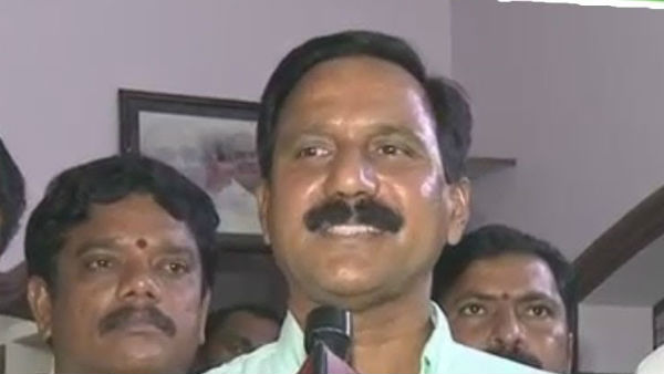 YSRCP S Kota MLA K Srinivasa Rao tests Positive for Covid-19 after return from US