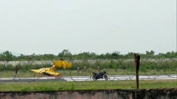 Odisha: Trainer aircraft crashes in Dhenkanal, 2 killed