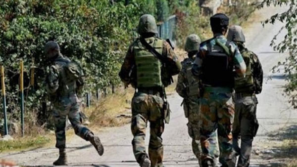 Four terrorists killed in an encounter at Shopian in Jammu and Kashmir