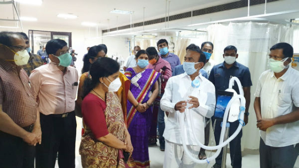 covid-19: medical services started at hyderabad TIMS on monday