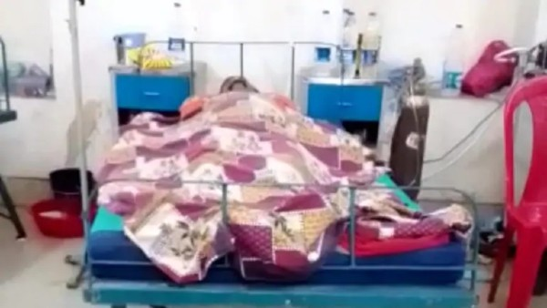 Patient made to sleep next to dead body at isolation ward..