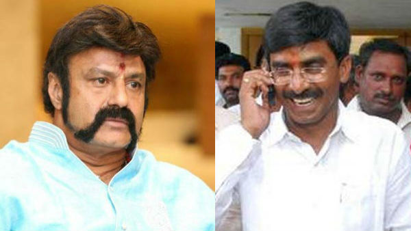 ntr statue issue: nandamuri balakrisha phone call to ysrcp mla ramireddy pratap kumar reddy