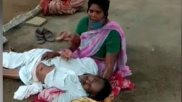 patient died in anantapuram government hospital after staff deny admission