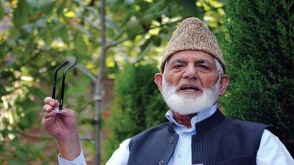 Pak Senate resolution seeks Nishan-e-Pakistan for Syed Ali Shah Geelani