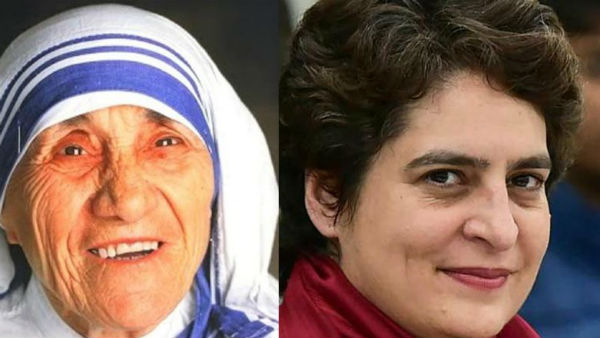 Mother Teresa asked me to work with Missionaries of Charity, says Priyanka Gandhi