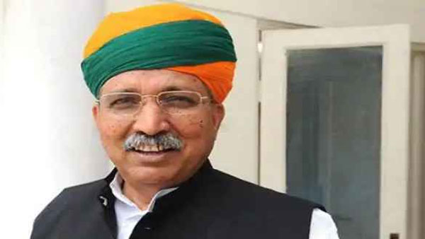 Union Minister Arjun Meghwal who claimed papad helps in fighting Covid, tests positve
