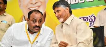 chandrababu saddened to hear atchannaidu tested corona positive