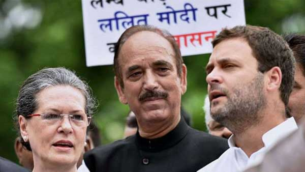 cwc updates: Some colleagues, not Rahul Gandhi, accused us of collusion with BJP: Azad clarify