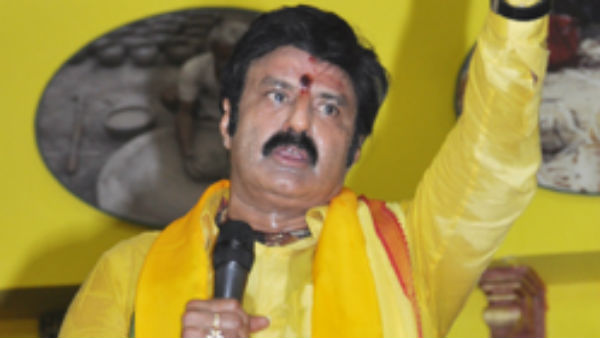 la balakrishna says a mantra to avoid getting infect with coronavirus