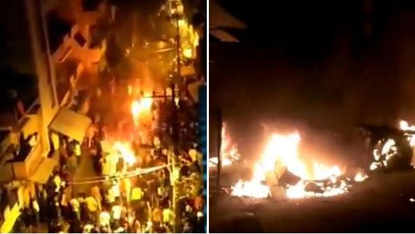 బెంగళూరులో హింసాత్మక పరిస్థితులపై భగ్గుమంటోన్న పార్టీల నేతలు: అల్లరిమూకను వదలొద్దంటూ