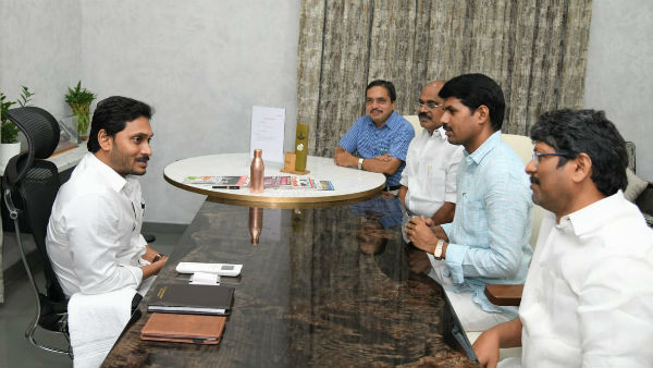 employees cps cancellation demands in andhra once again, will jagan keep his promise ?