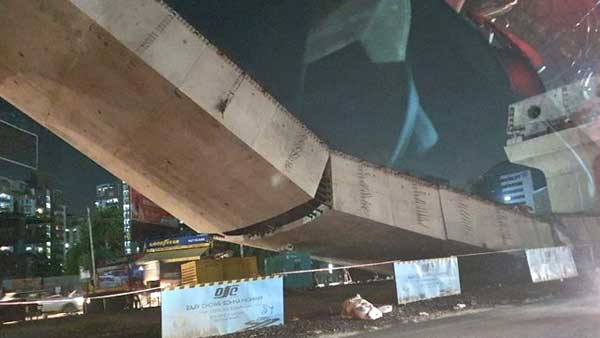 Gurugram: Part of an under-construction flyover collapses, 2 injured