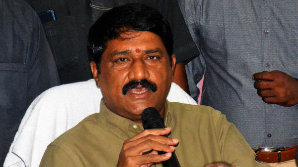 Route Clear for Ganta Srinivasa Rao to join in YSRCP.