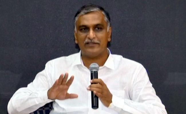 harish rao slams central government on gst