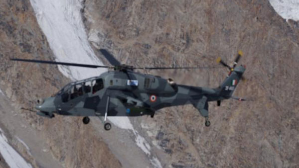 IAF deploys two HAL-developed Light Combat Helicopters in Leh amid border tensions