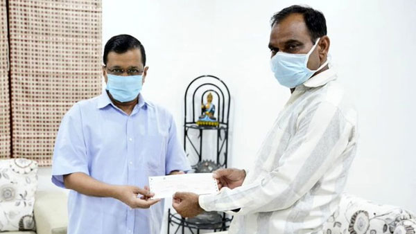 CM Kejriwal provides Rs.1 crore financial assistance to Corona warrior Dr Joginders family