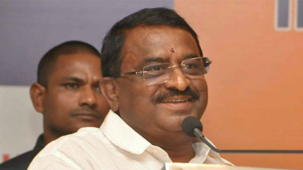 AP govt Suspended Former Minister Pitani Satyannarayanas Former PS Muralimohan