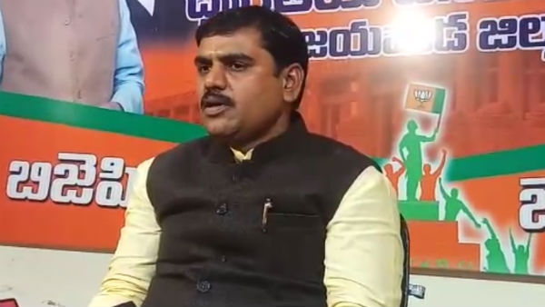 ap bjp vice president vishnuvardhan reddy key comments on chiranjeevis joining