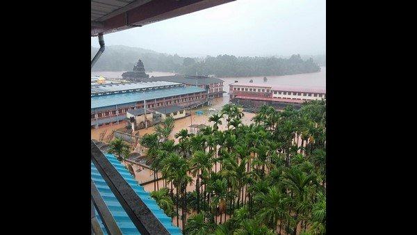 Monsoon rain:శృంగేరి పుణ్యక్షేత్రం జలమయం, కింద కరోనా, పైన వరుణుడు, దేవుడా కరుణించు!
