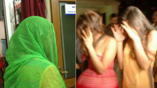 prostitution racket busted in a house and 10 held in hyderabad