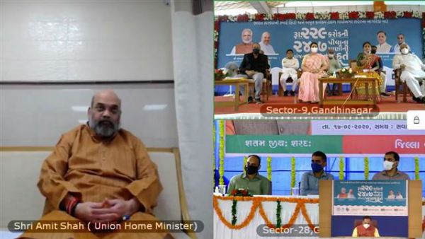 Home minister Amit Shah discharged from AIIMS, attends virtual meet in his constituency
