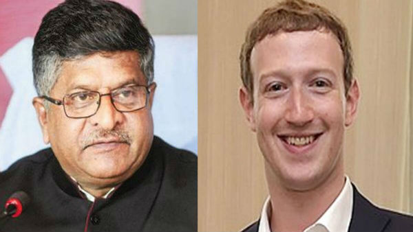 Ravi Shankar Prasad writes to Mark Zuckerberg, accuses Facebook India of bias