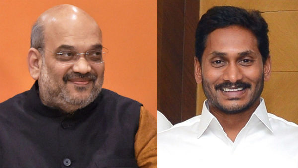 bjp mps gvl and cm ramesh seek amit shahs intervention on recent temple incidents in ap