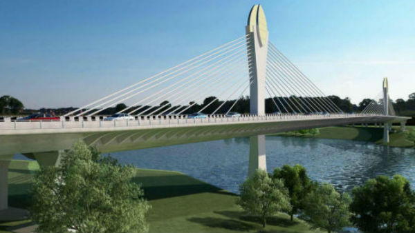hyderabad durgam cheruvu cable bridge inauguration postponed