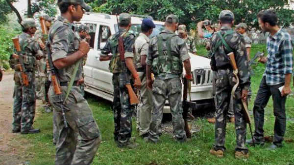 encounter in kothagudem district forest: three maoists killed