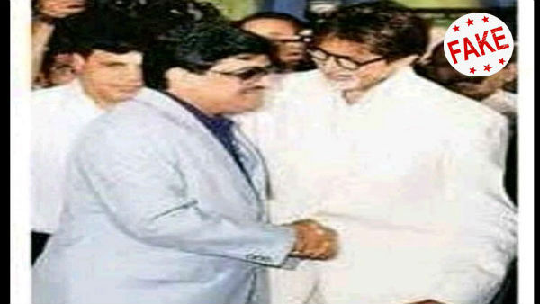 Fact Check Did Amitabh Bachchan Shake Hands With Dawood Ibrahim