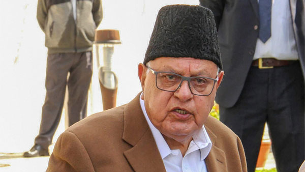 If we talking to China to resolve issues, why not with Pakistan Farooq Abdullah in Lok Sabha