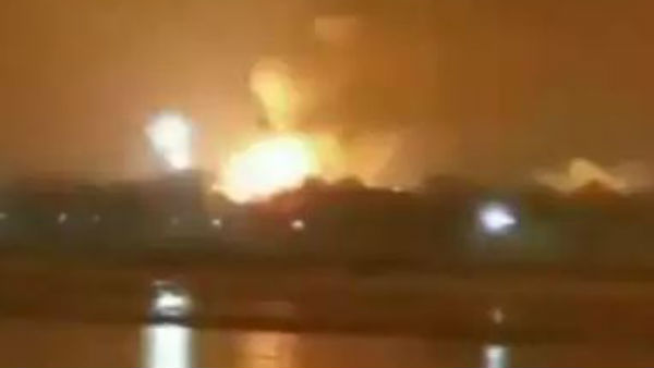 Huge blast, massive fire at ONGC plant in Surat
