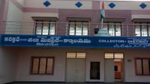 Manchiryal power department officials cut off the current to the collectors residence