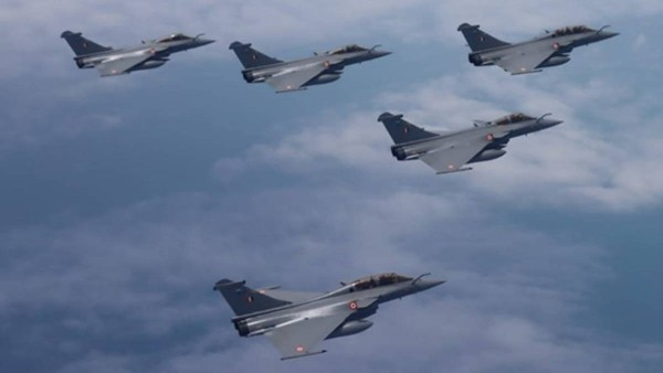 Rafale jets to be formally inducted into Indian Air Force today..