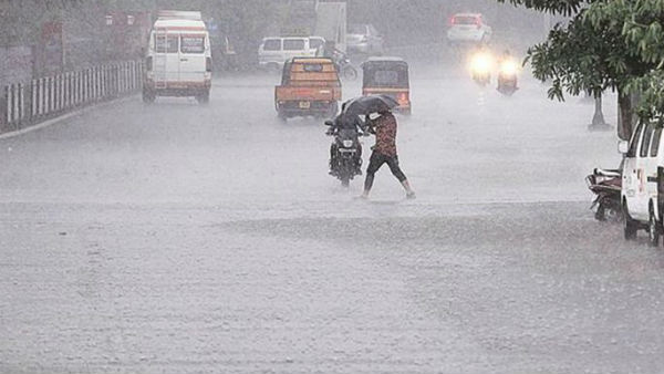 heavy mansoon rains across andhra pradesh with low pressure in bay of bengal
