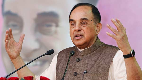subramanian swamy accused pro-naidu media for misleading tirumala declaration news