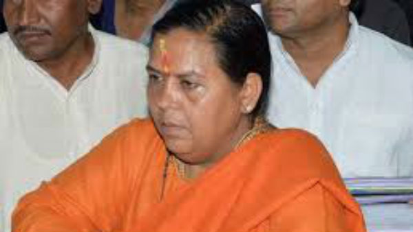 BJP leader Uma Bharti tests positive for coronavirus