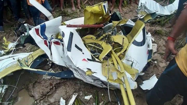 Training aircraft Crashes In Uttar Pradesh's Azamgarh, Pilot Dies In The Accident