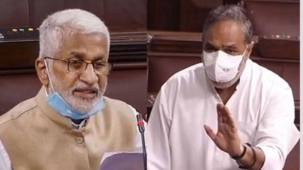 రాజ్యసభ: విజయసాయిరెడ్డి సంచలనం - 'దళారీ కాంగ్రెస్' వ్యాఖ్యలపై రగడ - మోదీ వెంటే జగన్